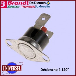Limiteur T° Réarmable 120° 76x5214 CYB-021852