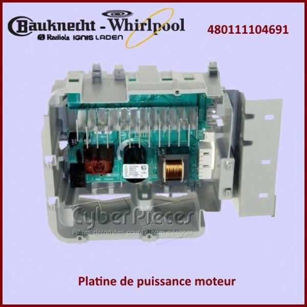 module de commande moteur whirlpool 480111104691 pour modules electroniques machine a laver. Black Bedroom Furniture Sets. Home Design Ideas