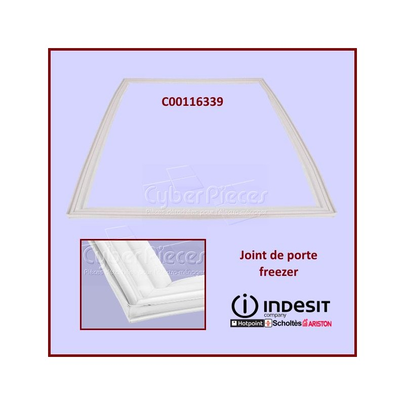 Joint de porte Freezer Indesit C00116339