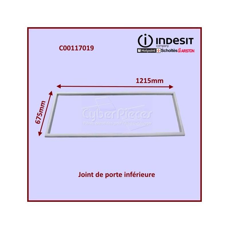 Joint magnétique inférieur Indesit C00117019