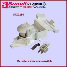Détecteur avec micro switch Brandt 57X2284 CYB-229241