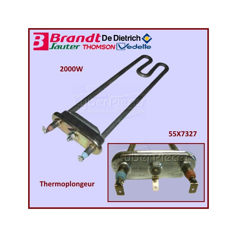 Thermoplongeur 2000W Brandt 55X7327