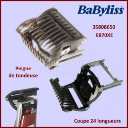 Peigne de tondeuse E870XE Babyliss 35808650 CYB-059060