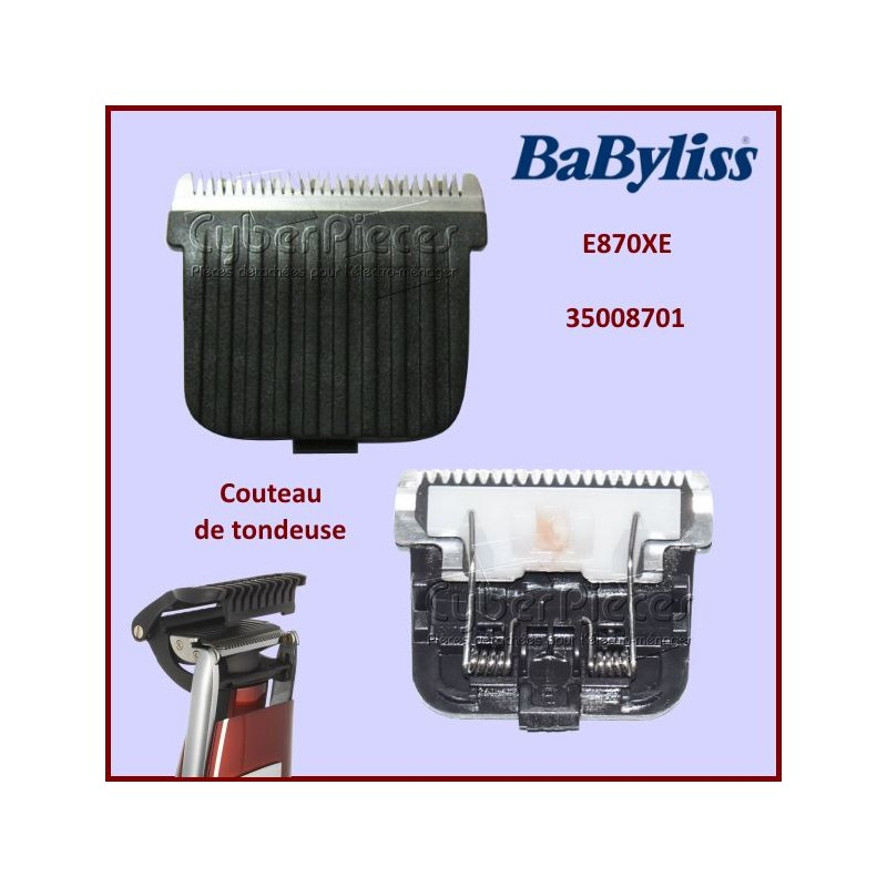 Couteaux E870XE Babyliss 35008701