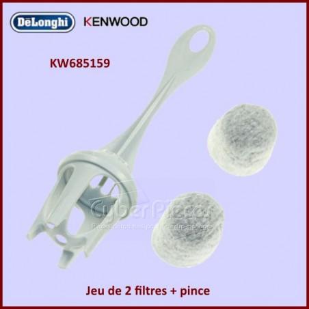 Cartouche filtrante avec pince Kenwood KW685159