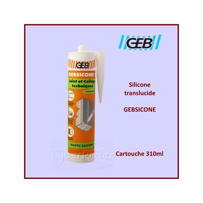 Mastic GEBSICONE Silicone TRANSLUCIDE 310ML