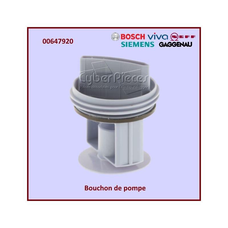 Bouchon de pompe à vis BOSCH 00647920