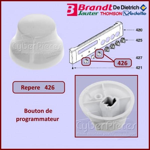 Bouton de programmateur Brandt 72X4184