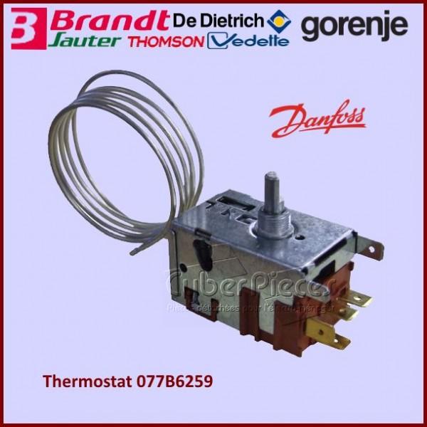 Thermostat 077B6259 Brandt 45X5781