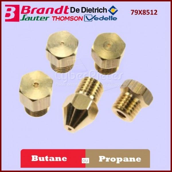 Jeu d'injecteurs butane / propane Brandt 79X8512