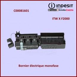 Bornier électrique Indesit C00081601 CYB-314688
