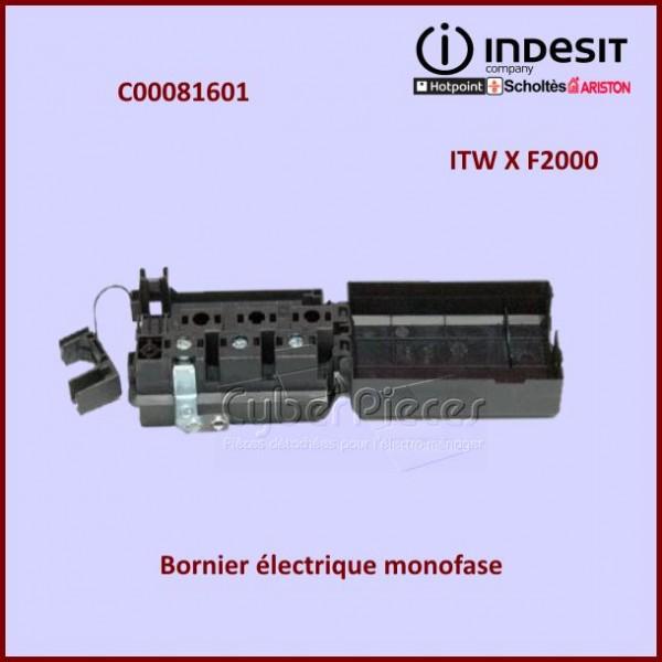 Bornier électrique Indesit C00081601