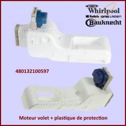 Moteur volet + plastique de protection 480132100597 CYB-177351