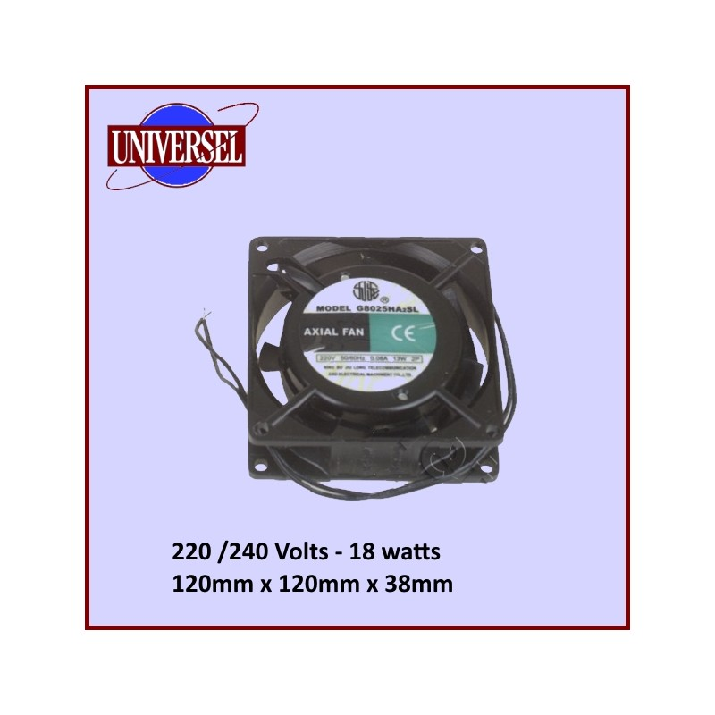 Ventilateur Axial  120mm