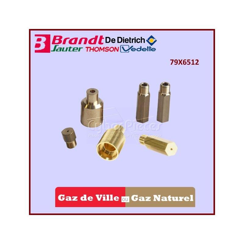 Injecteurs Gaz Naturel Brandt 79X6512