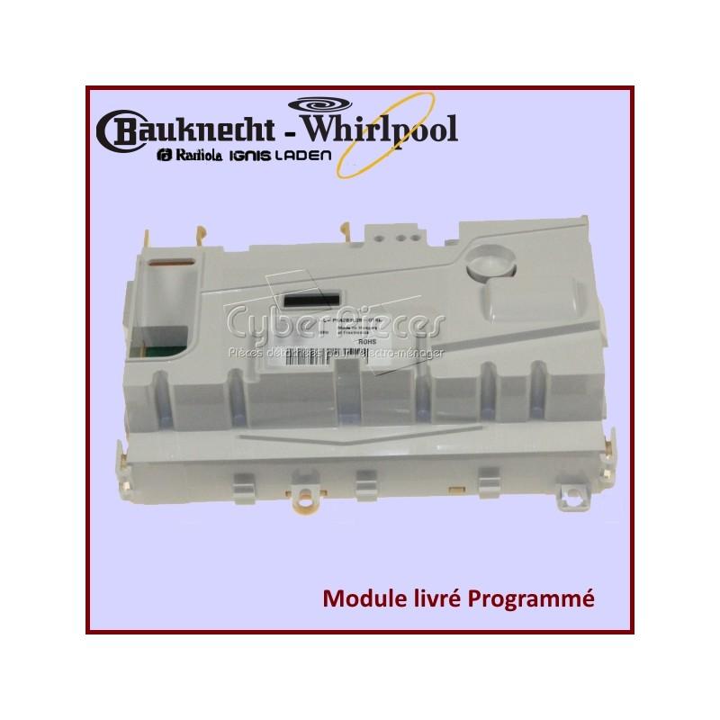 Module électronique configuré Whirlpool 481010452549