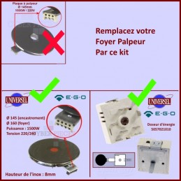 Kit Plaque de cuisson +...