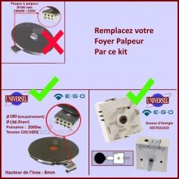 Kit 1 Foyer + 1 Doseur...