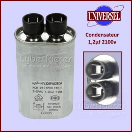Condensateur 1,2µf (1,2mF) 2100v CYB-043694