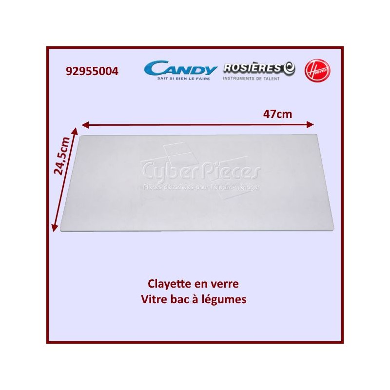Tablette en verre Candy 92955004