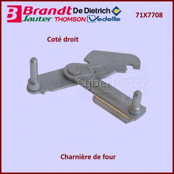 Charnière Droite Brandt 71X7708