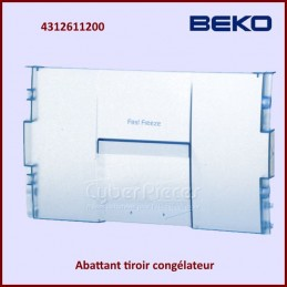 Façade de Tiroir Beko 4312611200 CYB-075794