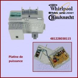 Carte électronique de puissance Whirlpool 481228038115 CYB-184397