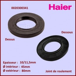 Joint d'axe 80x45x10/11,5mm Haier 0020300341 CYB-156691