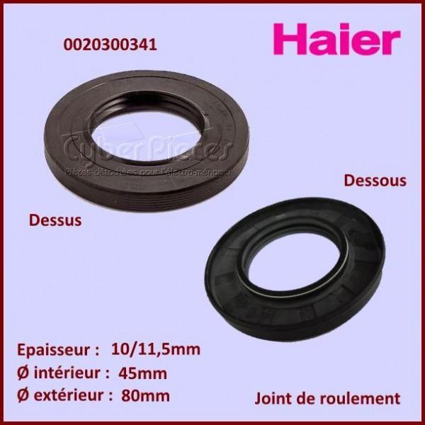 Joint d'axe 80x45x10/11,5mm Haier 0020300341