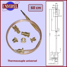 Thermocouple universel 600mm CYB-052542