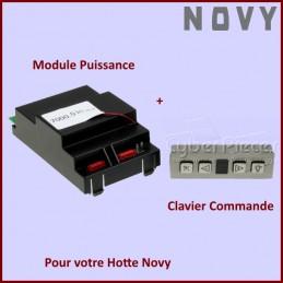 Carte électronique de Puissance + Boitier de Commande NOVY CYB-079303