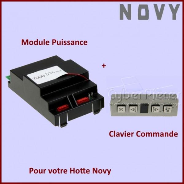 Module de Puissance + Boitier de Commande NOVY
