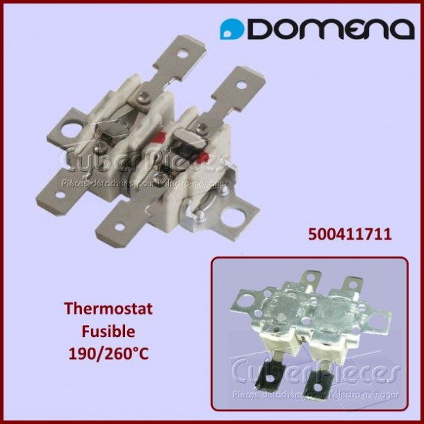 Thermostat 190°/260° Domena 500411711