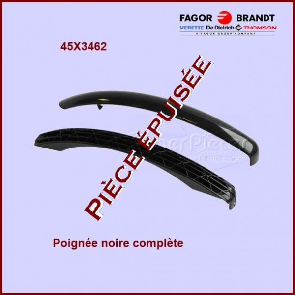 Poignée Noire + Capot Noir 45X3462***Piéce épuisée***