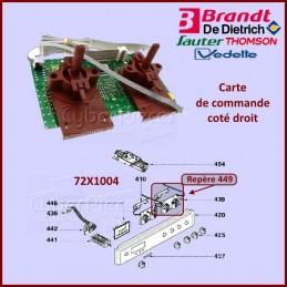 Carte de commande Droite Brandt 72X1004 CYB-239196