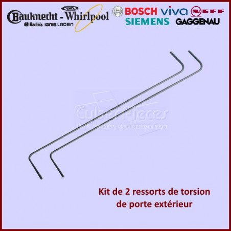 Lot de 2 ressorts Whirlpool 481249248171