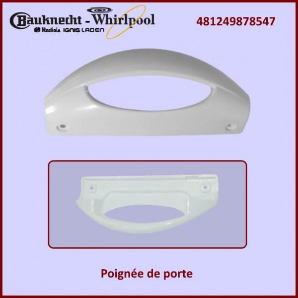 Poignée de porte Whirlpool 481249878547