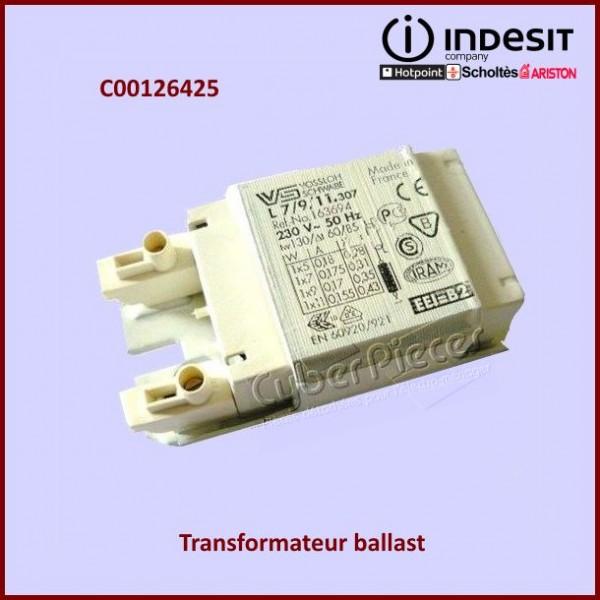 Transformateur ballast hotte Indesit C00126425