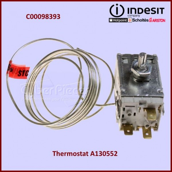 Thermostat A130552 Indesit C00143431