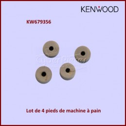 Lot de 4 pieds machine à pain Kenwood KW679356 CYB-107440