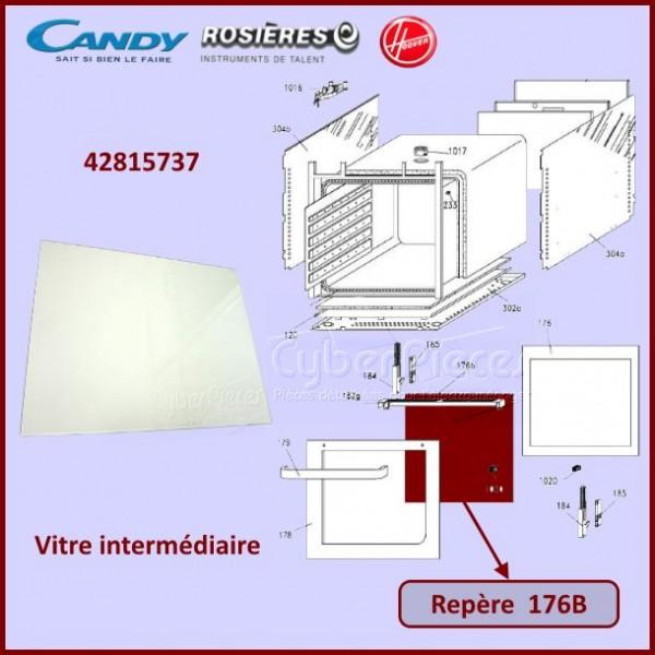 Vitre intermédiaire Candy 42815737