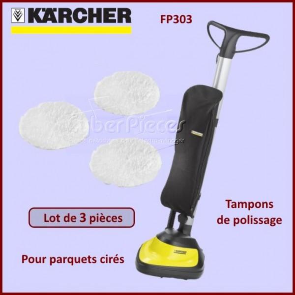 Feutre de polissage x3 Karcher 28631960