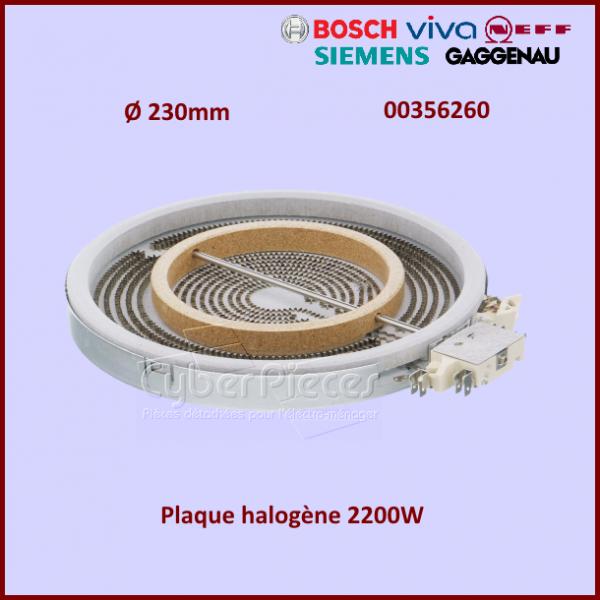 Foyer radiant 230mm double zone 2200 (1450w+750W) Ego 1051213034