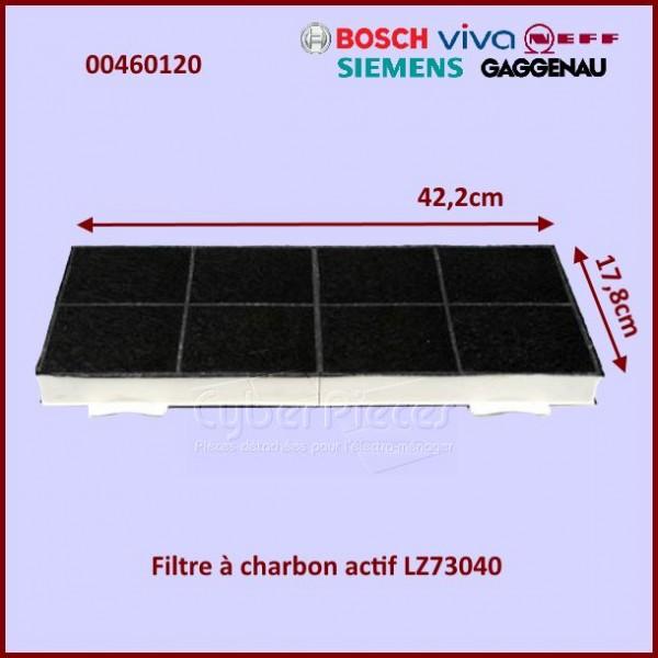 Filtre à charbon DHZ7301 Bosch 00460120