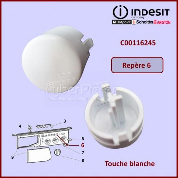Touche Blanche Indesit C00116245