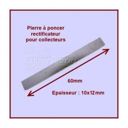 Pierre à poncer spéciale charbons 10x12x60mm CYB-037181