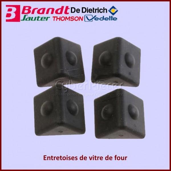 Lot de 4 entretoises Brandt 72X0278