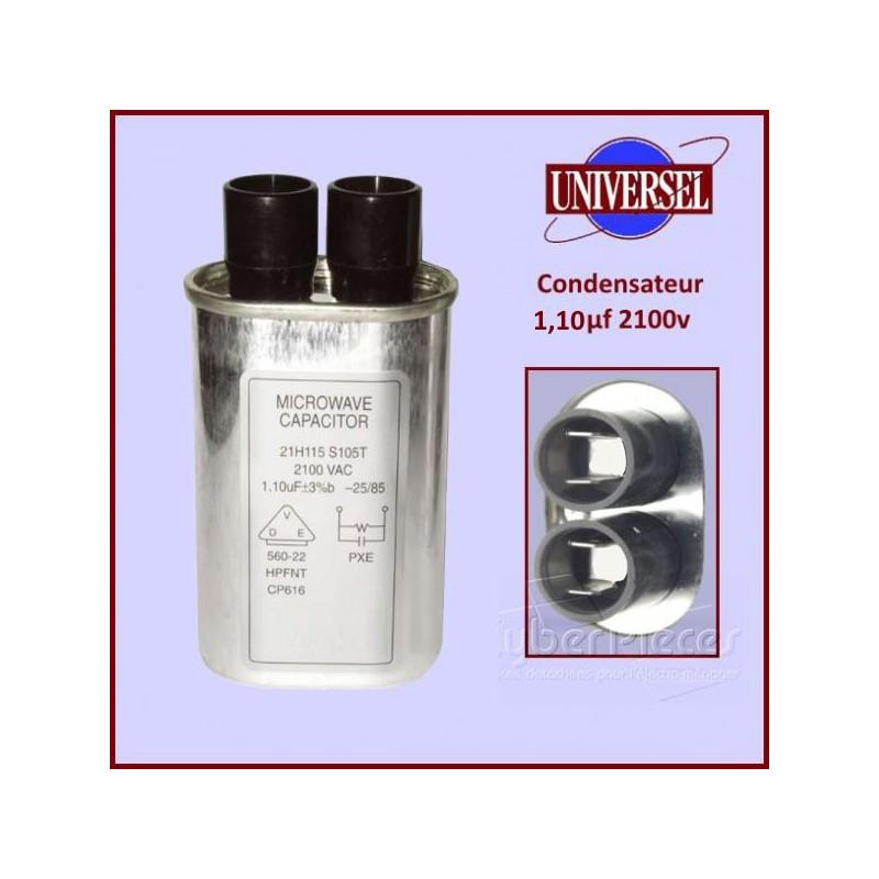 Condensateur 1.10µF 2100V