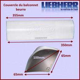 Couvercle balconnet à beurre Liebherr 9101188 CYB-101370