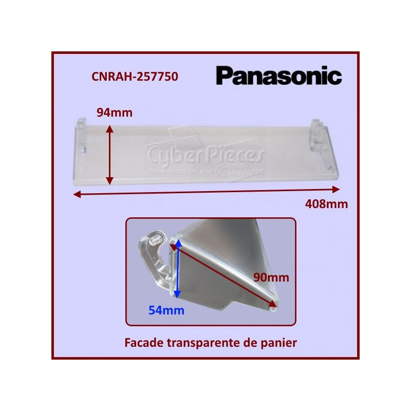 Façade plastique Panasonic CNRAH-257750